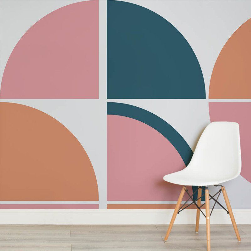 Breuer Mid Century Modern (With images) | Funky wallpaper ...