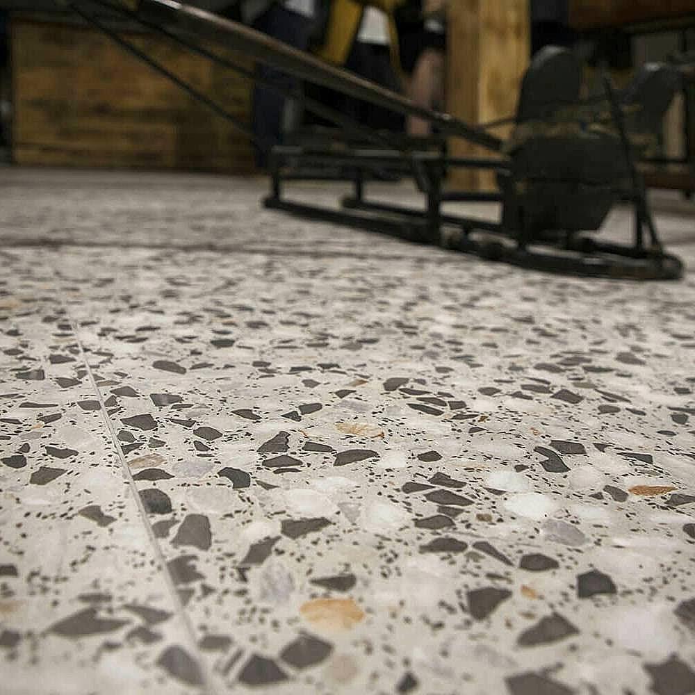 Spanish Porcelain Terrazzo Floor Tile Photo Source Sydney Tiles