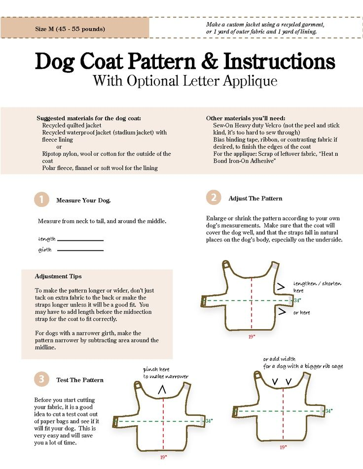 Dog Coat Pattern =] | Pet | Pinterest | Dog coat pattern, Coat ...
