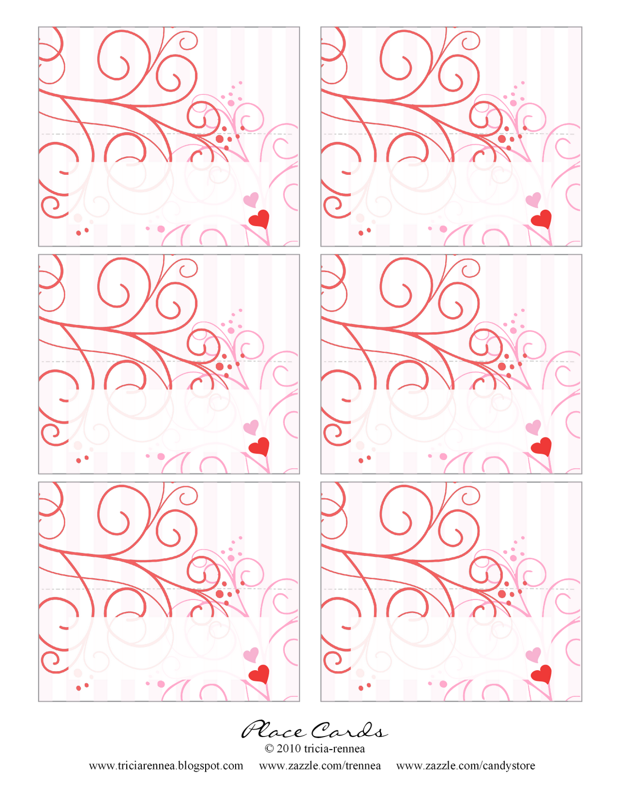 Valentine S Day Place Cards Or Labels For Hot Cocoa Bar