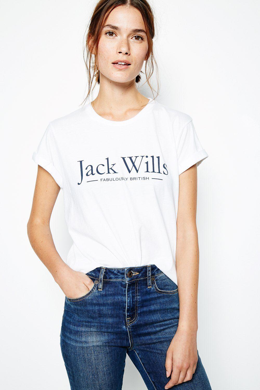 The Forstal Boyfriend T Shirt   Jack Wills   Fashion logo