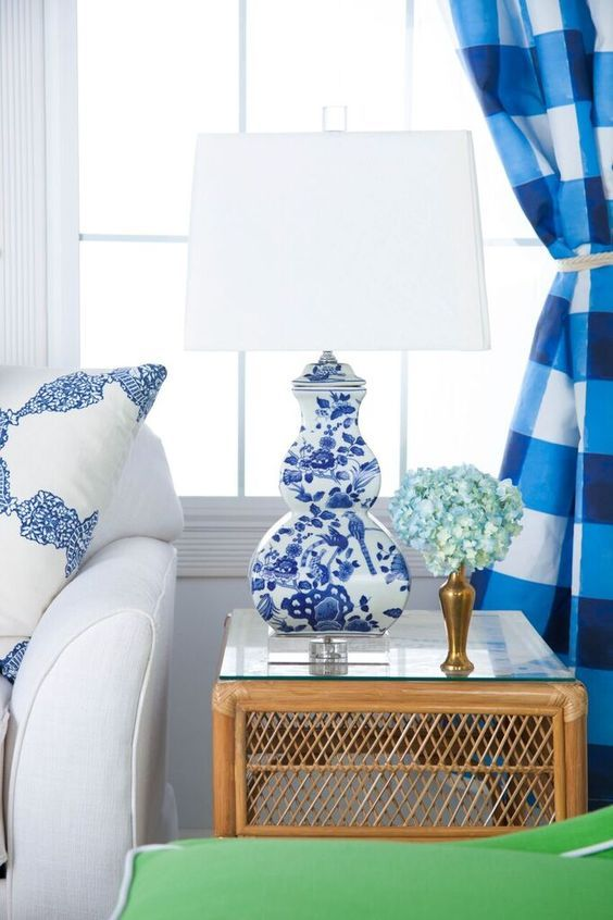 Blue and White (Chinoiserie Chic) Home decor, White