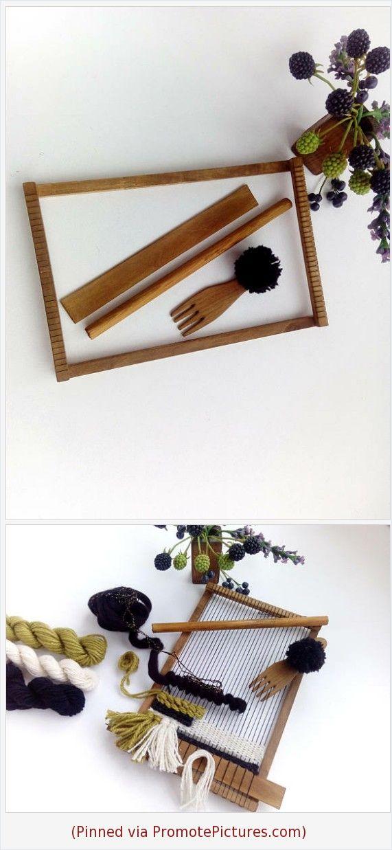 Small Loom Weaving Loom Kit Frame Loom Kids Tapestry Loom Weaving ...