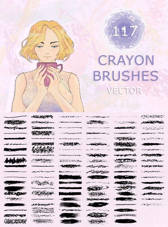 Hand Made Brushes For Illustrator Photoshop Brushes 900