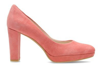 Clarks Kendra Sienna Womens High heels Bronze metallic