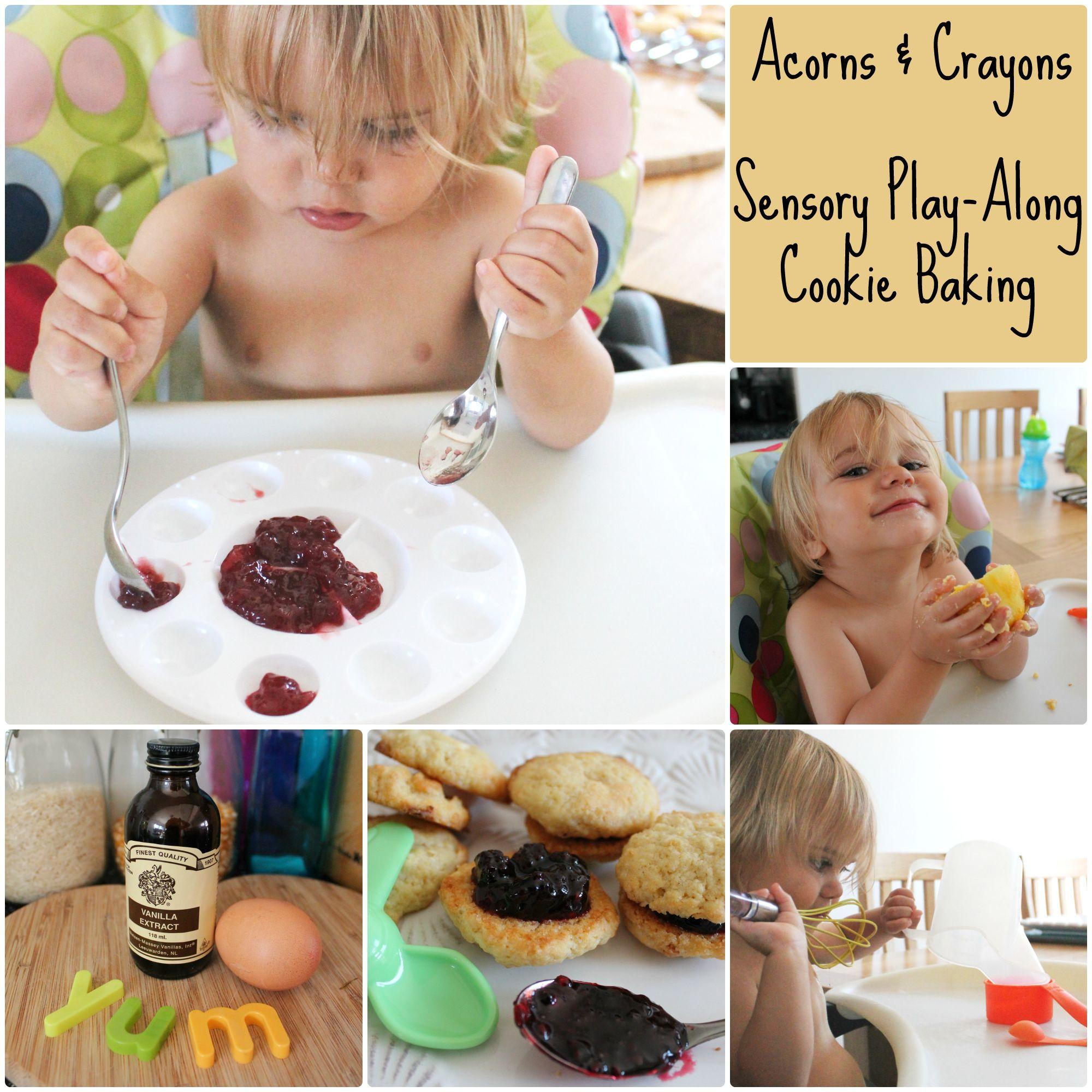 Sensory Play Along Cookie Baking