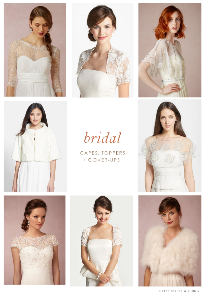 Wraps, Lace Toppers, and Cover-ups for the Bride | Pinterest ...