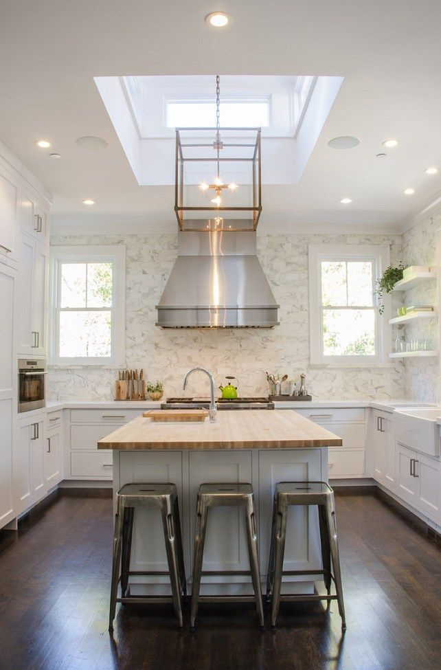 kitchen skylight ceiling  kitchen skylight ceiling ideas  kitchen skylight over u2026 white walls are trending  best white interior paint colors   blog      rh   pinterest com