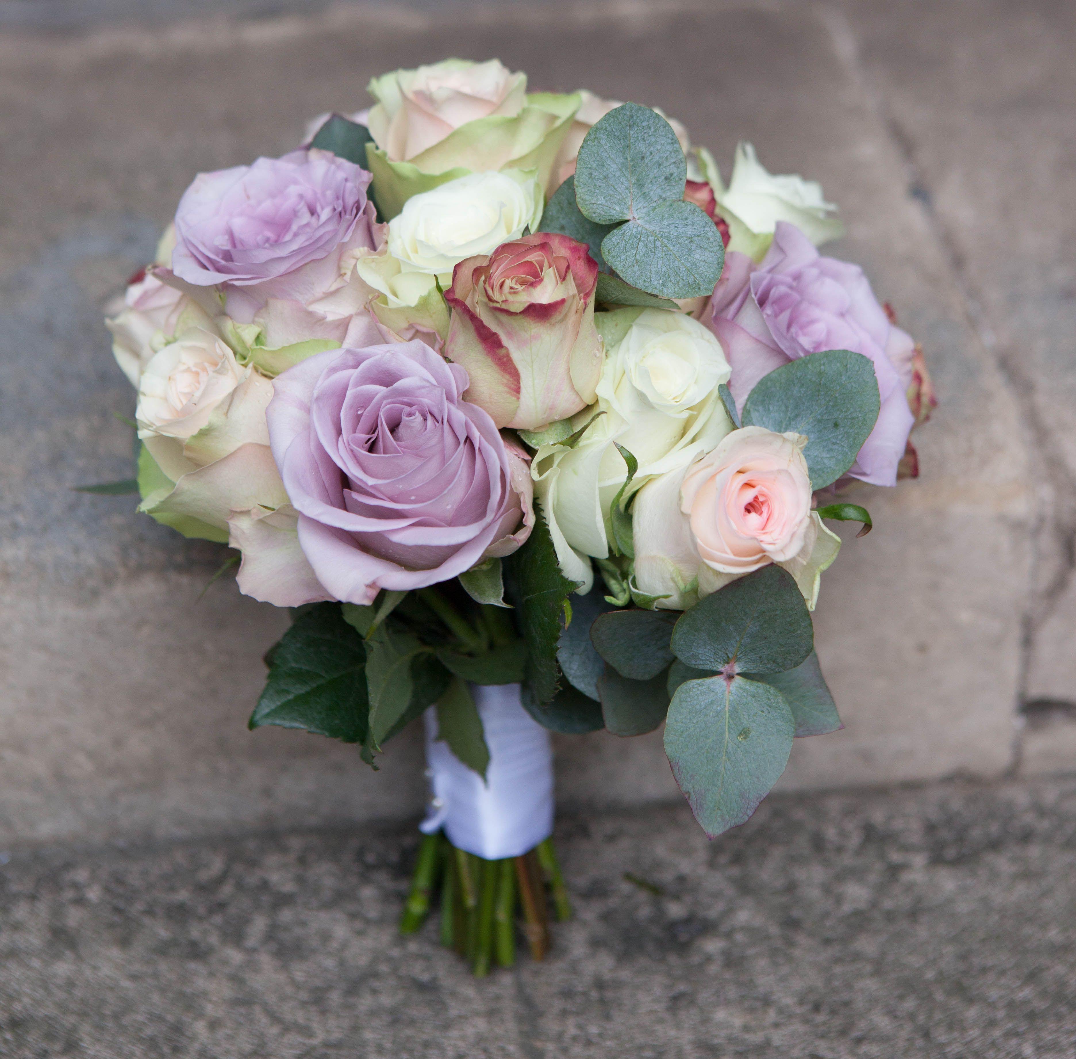 vintage rose bouquet | the flower house | pinterest