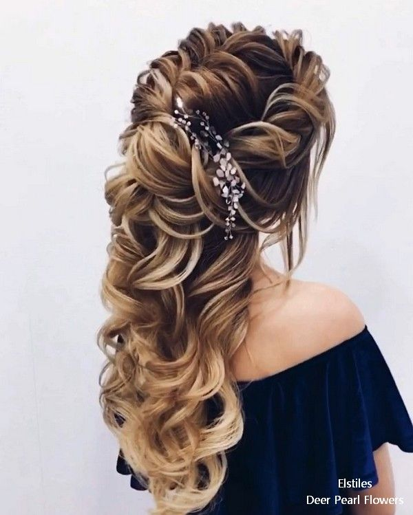 Wedding Hairstyles 20 Long Wedding Hairstyles For Bride From Elstiles  Weddings Hair