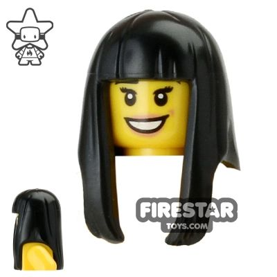 LEGO® 3 Pieces Male Black Spikey Hair  for Minifigures NEW
