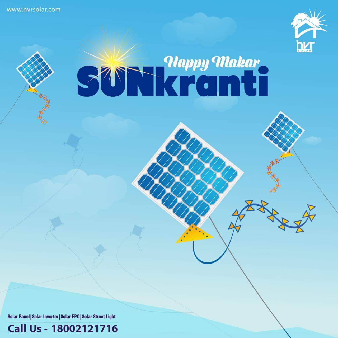 Home In 2020 Happy Makar Sankranti Solar Module Solar