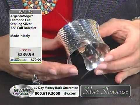 Silver Showcase With Michele 7/10/2013 6:00 AM - Jewelry Television - http://videos.silverjewelry.be/pins/silver-showcase-with-michele-7102013-600-am-jewelry-television/