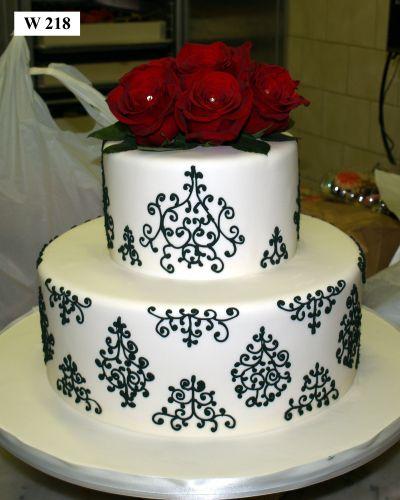 Florais do bolo de casamento Designs - padaria de Carlo