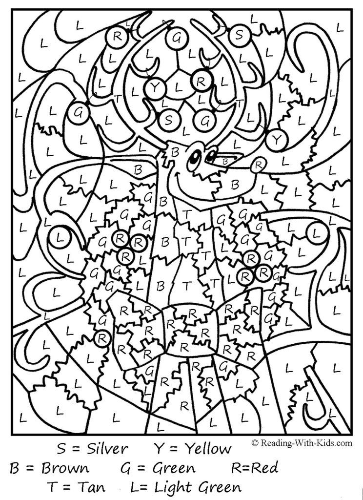 Coloring Pages: Free Color By Number Printables For Adults