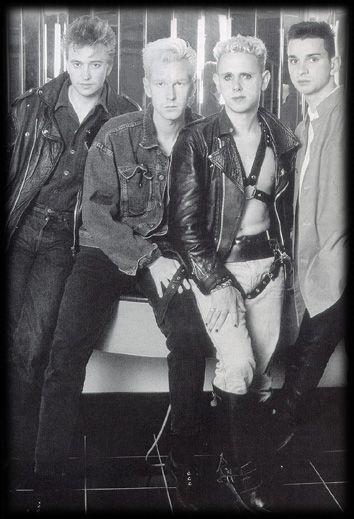Depeche Mode, Dave Gahan, Martin Gore, Andy Fletcher, Alan Wilder, 1980's