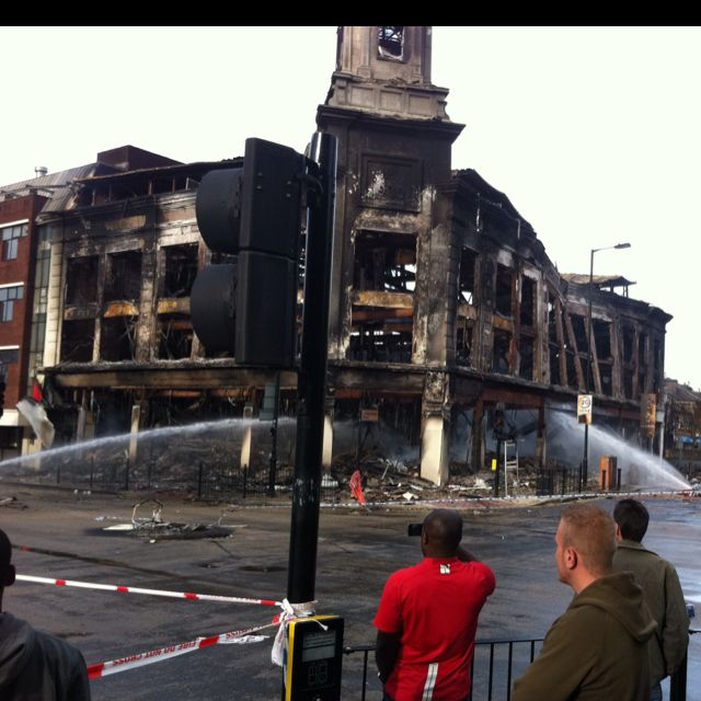 Aftermath of the London Riots in Tottenham