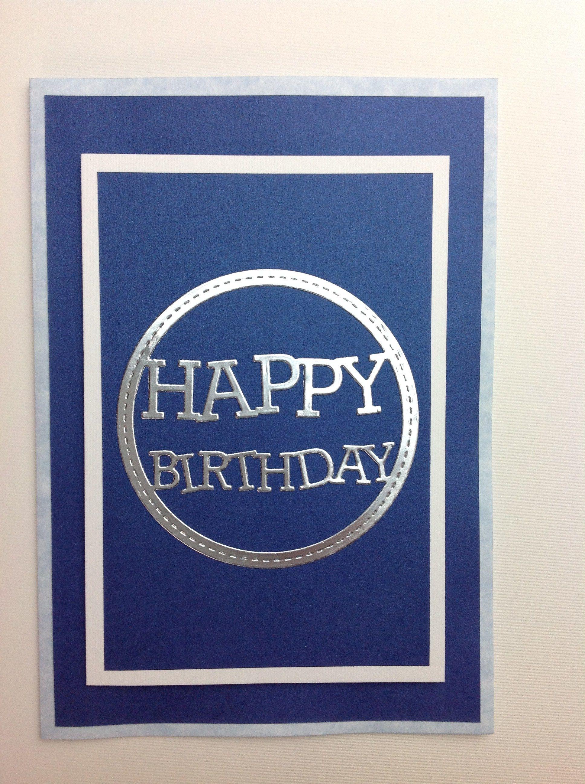 tarjeta scrapbook cumpleaños hombre (8) | Sandra en 2018 | Pinterest ...