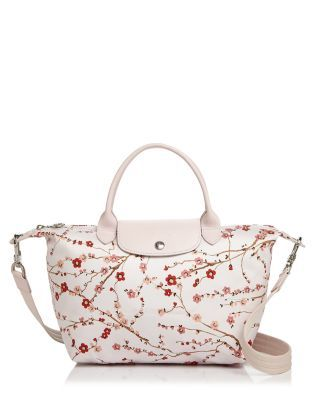 34d564f51c6e LONGCHAMP Le Pliage Neo Sakura Small Satchel. #longchamp #bags #shoulder  bags #hand bags #nylon #leather #satchel #