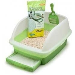 Best Cat Litter Box And System Ever No Odor Uses Ecological Wood Pine Pellets Ikea Hack Using Algot Mesh Basket 7 Diy Litter Box Diy Wood Box Litter Box