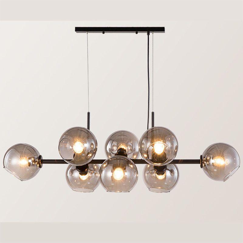 Modern Glass Ball Magic Bean Chandelier Pendant Light Nordic