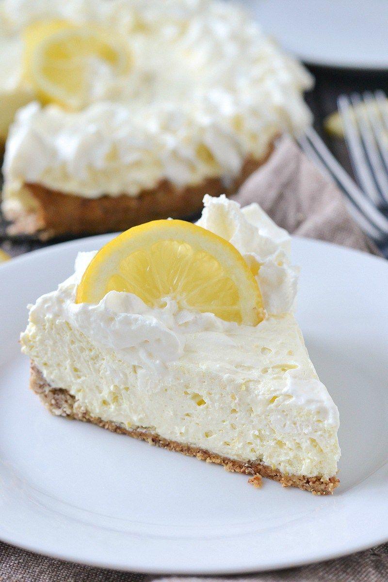 Low Carb Lemon Cheesecake Recipe Keto Diet Low Carb