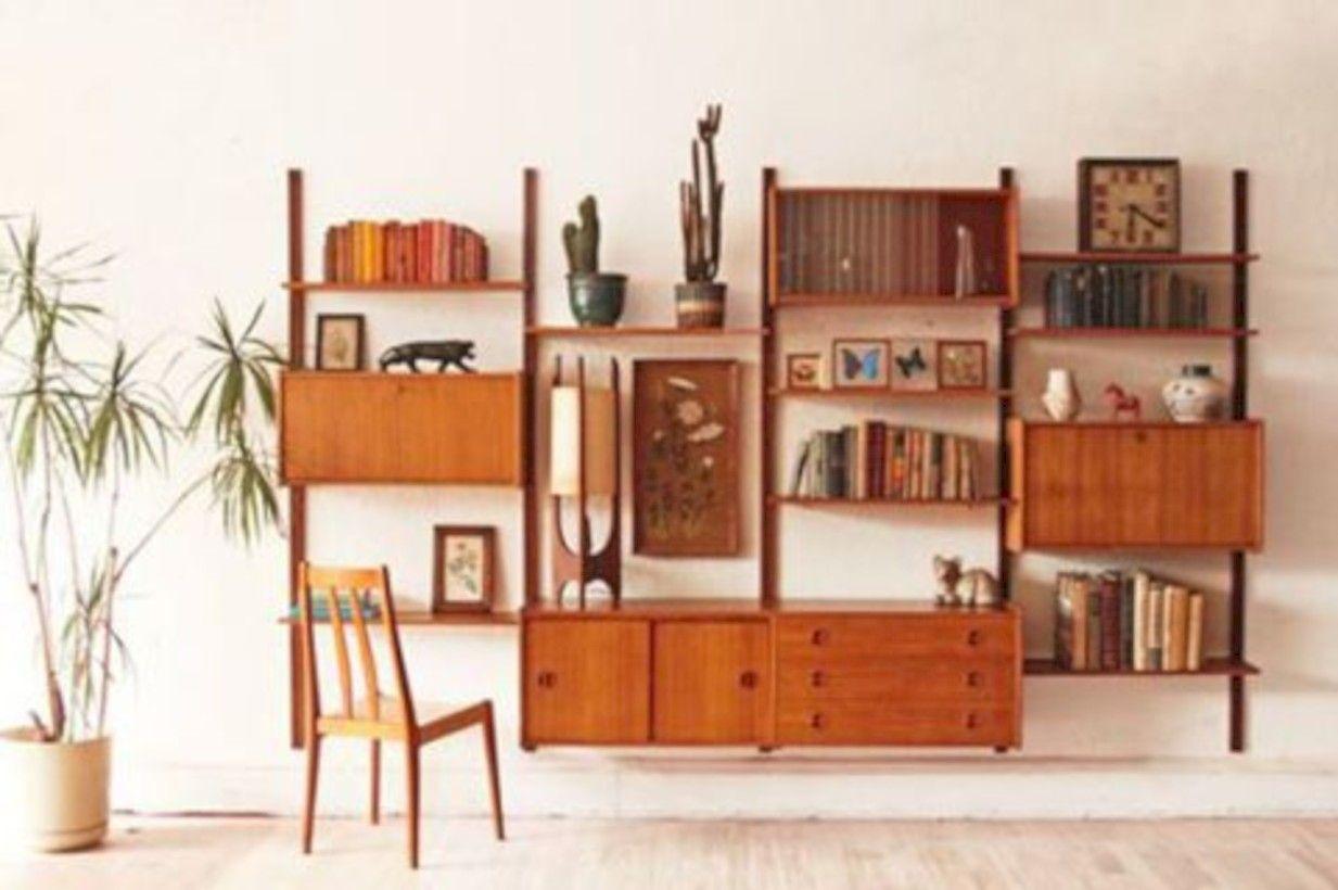 30 Original Mid Century Modern Bookcases Ideas You Ll Love Mid Century Modern Bookcase Wall Shelving Units Mid Century Modern Furniture