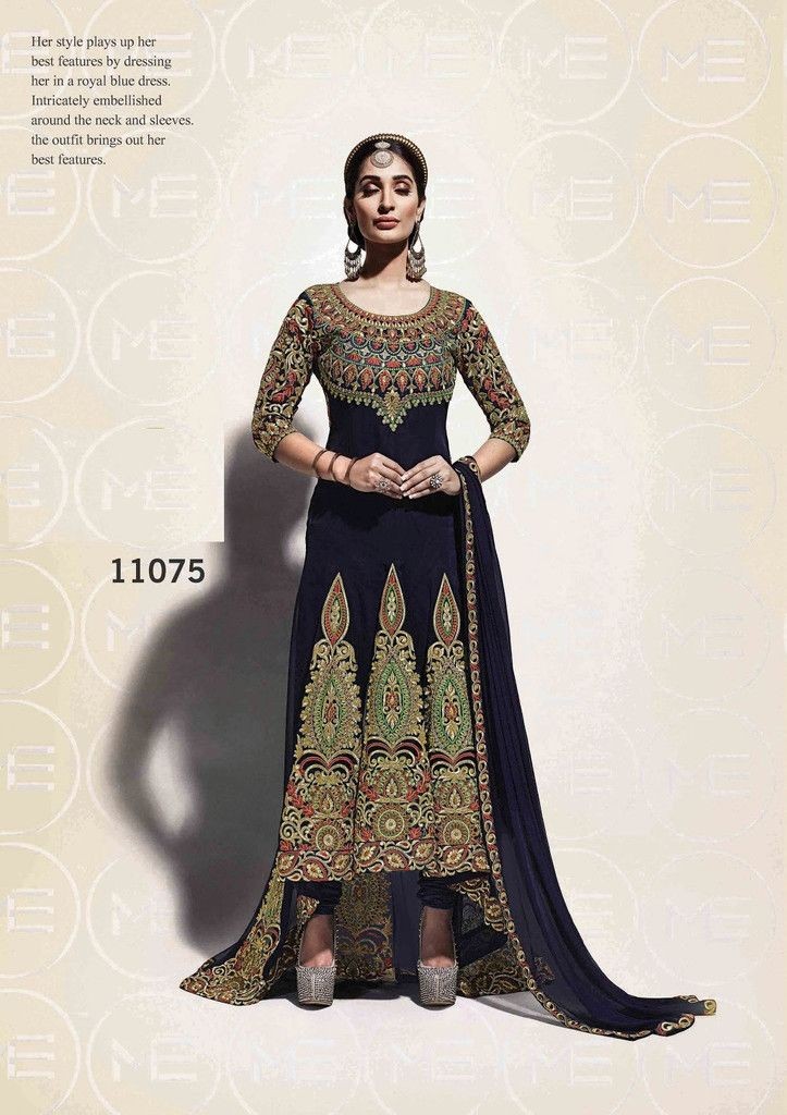 2c15fdf24ba Dazzling Salwar Kameez made with Georgette   fashionsbyindia.com ...