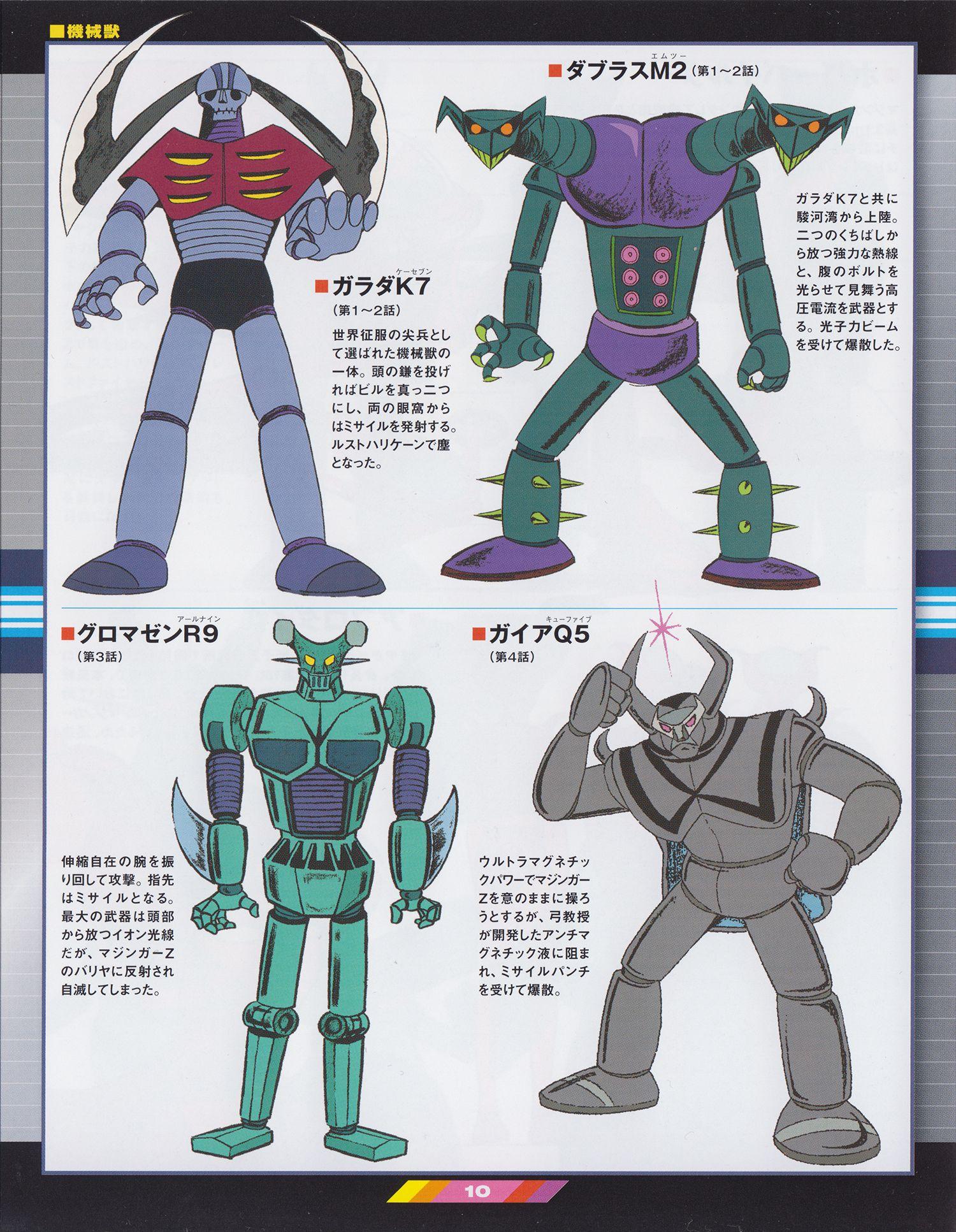 Mazinger Z Japon/és Super Robot Manga Ni/ño Cl/ásico Lonchera Bolsa Escolar