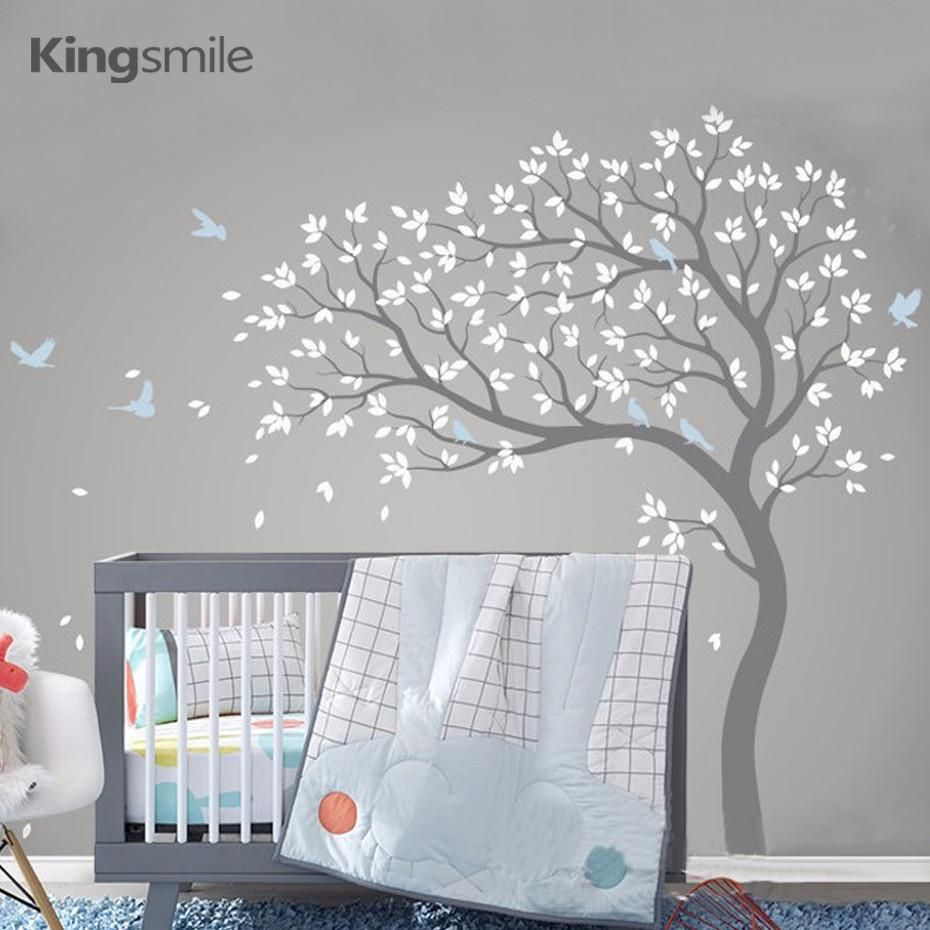 New Huge Tree Wall Sticker Vinyl Removable Pvc Modern Nursery Art Decals Poster Mural Stickers