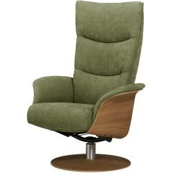 Relaxsessel Stian ¦ grün ¦ Maße (cm): B: 77 H: 116 T: 82 Polstermöbel > Sessel > Fernsehsessel » Höf