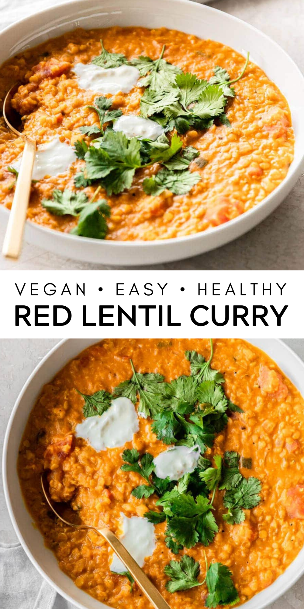 Red Lentil Curry Vegan Easy Delicious Real Vibrant Recipe Cheap Dinner Recipes Healthy Cheap Healthy Dinners Curry Recipes Vegetarian