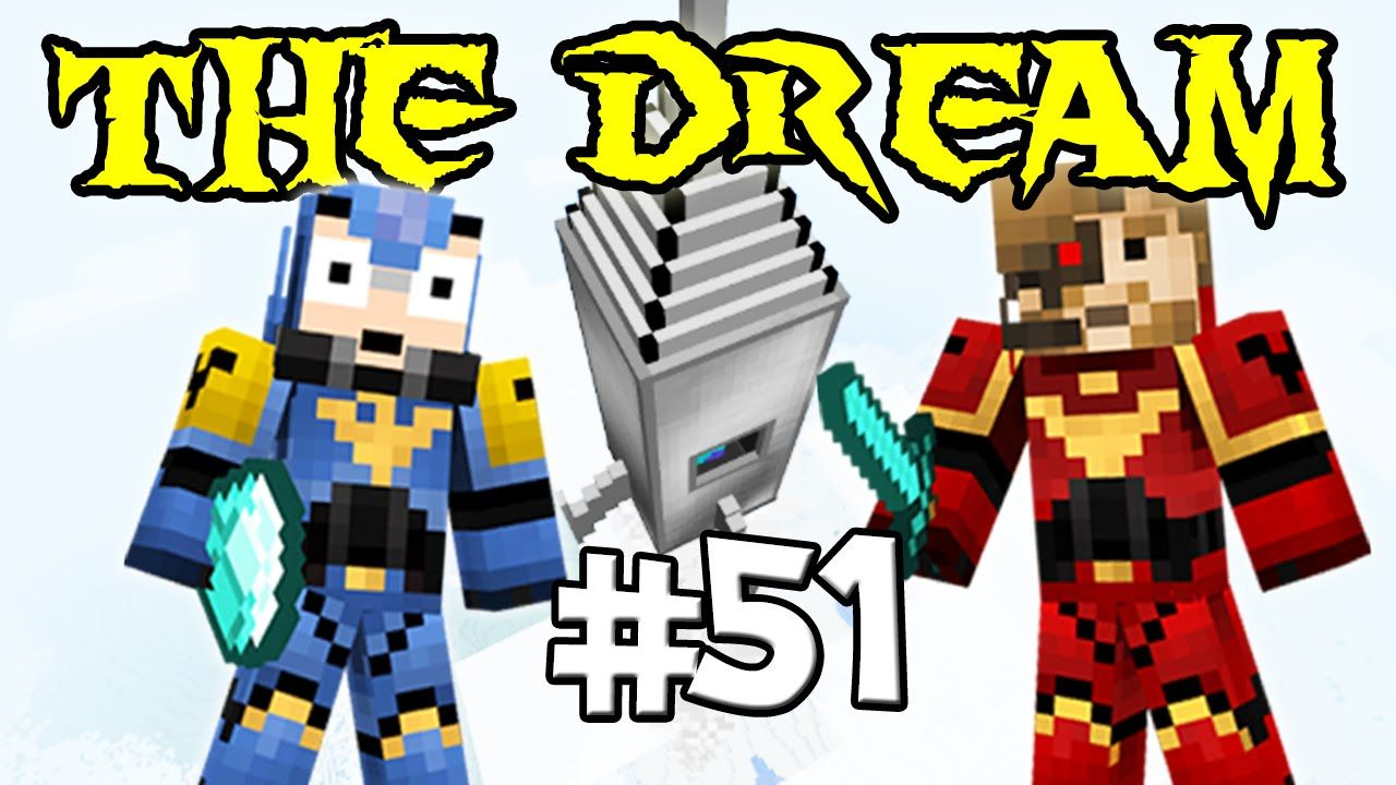 THE DREAM - Ep. 51 : UNE BASE TROP BADASS - Fanta et Bob Minecraft Modpack