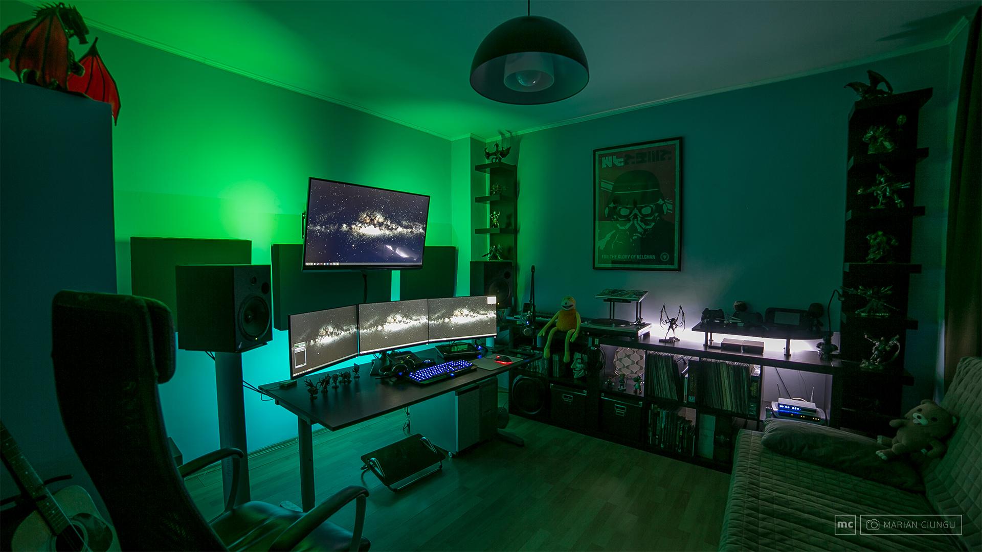 Man Caves Reddit : The studio gaming setup pc and game rooms
