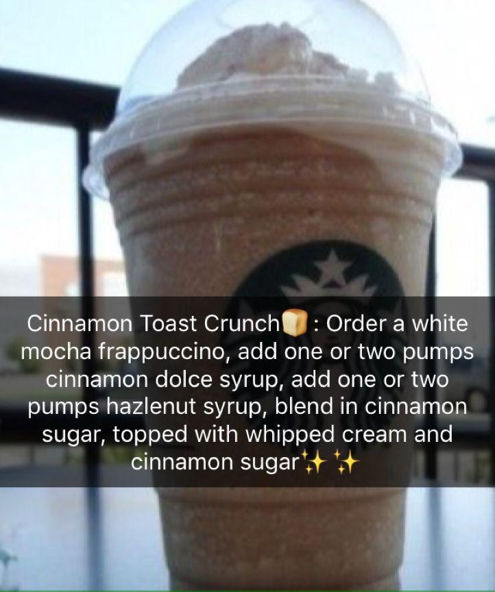 ✨Secret Starbucks Recipes✨ Check them out❗️ #cinnamontoastcrunch ✨Secret Starbucks Recipes✨ Check them out❗️ #starbuckssecretmenudrinks