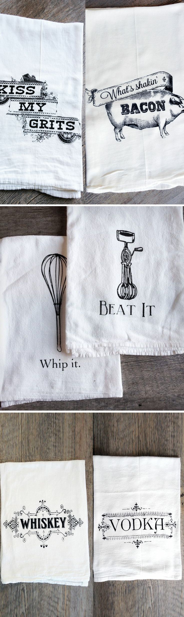 foodie cloth napkins for the home | Home | Pinterest | Napkins ...