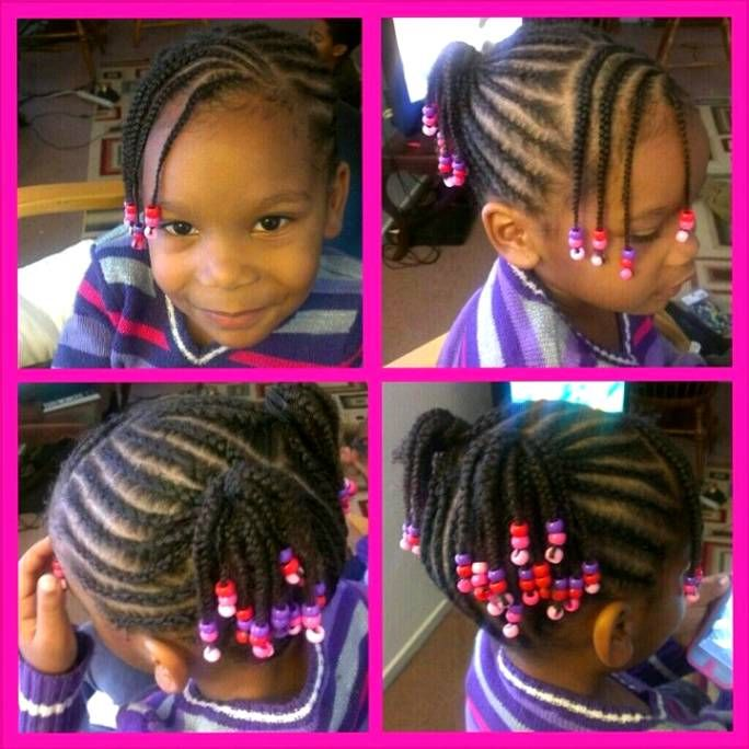 Tremendous 1000 Images About Little Girls Hair Styles On Pinterest African Hairstyles For Women Draintrainus