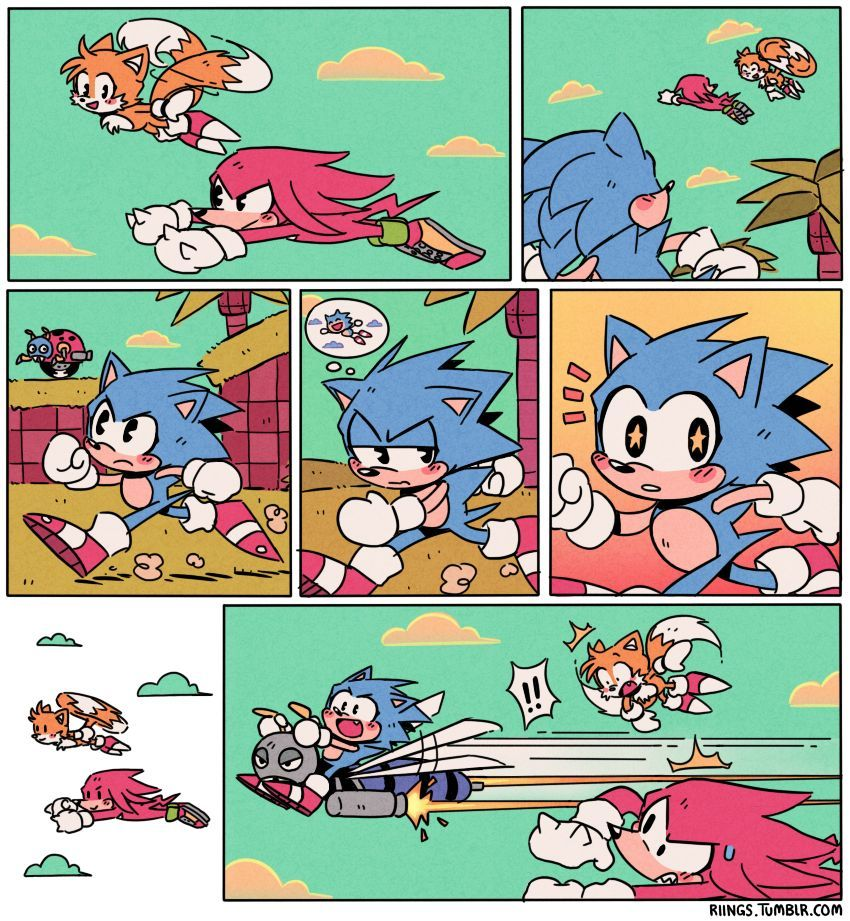 Sonic Funny, Classic Sonic