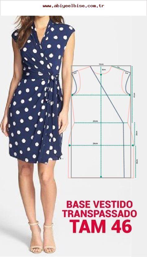 FABRIQUÉ EN TAILLE NETTE TRANSPARENTE 46. Modèle de robe juste – #Faires #HER …   – Kochen