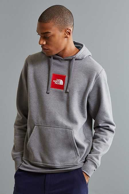 8f13498a4 The North Face Embroidered Box Logo Hoodie Sweatshirt | style | Box ...