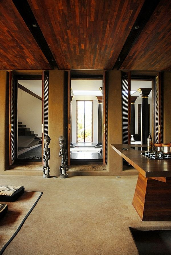 south indian retreat combines cool local architectural elements with modern design. beautiful ideas. Home Design Ideas