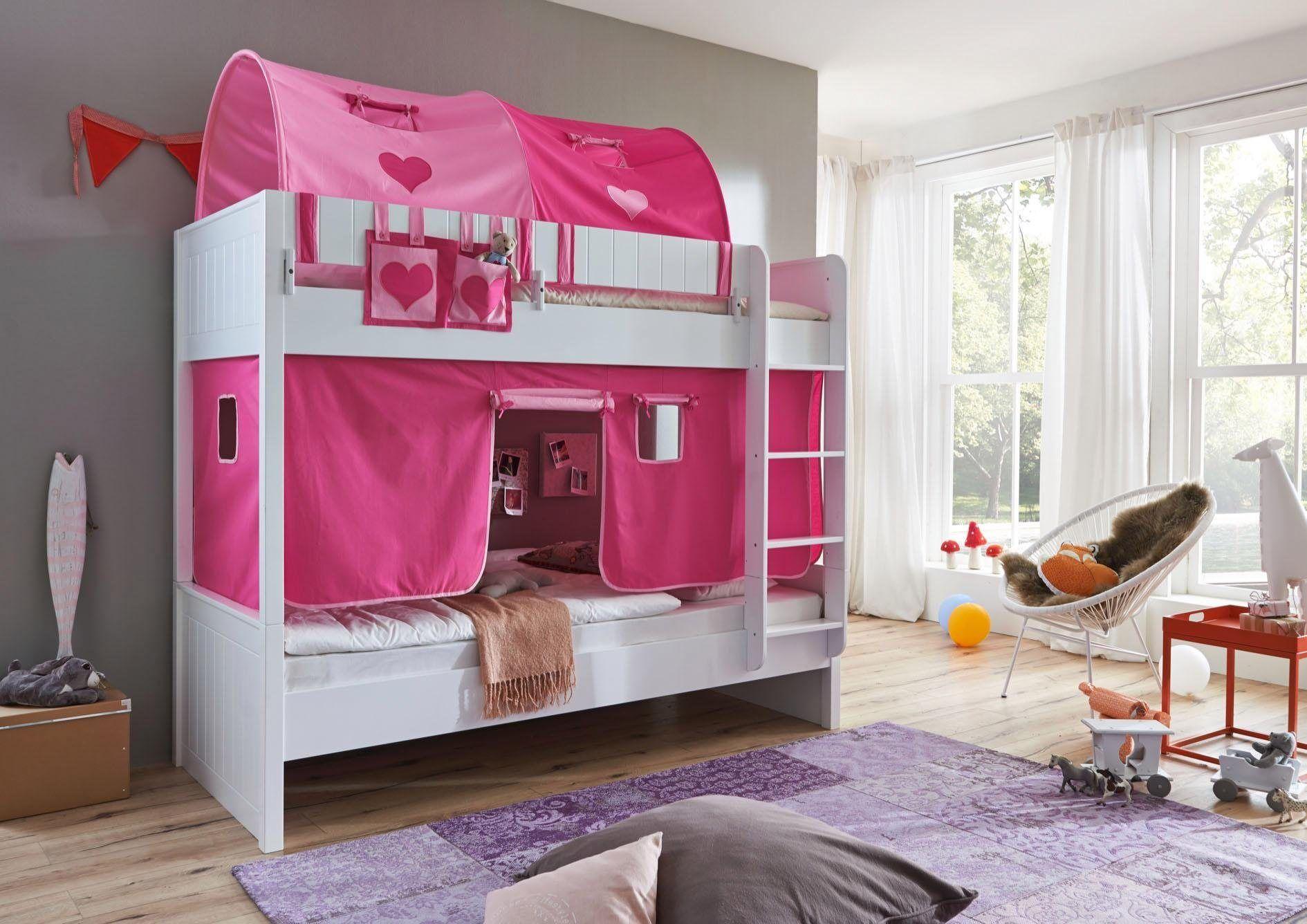 Tunnel Set Etagenbett : Relita einzel etagenbett luka« mit vorhang set tasche und er