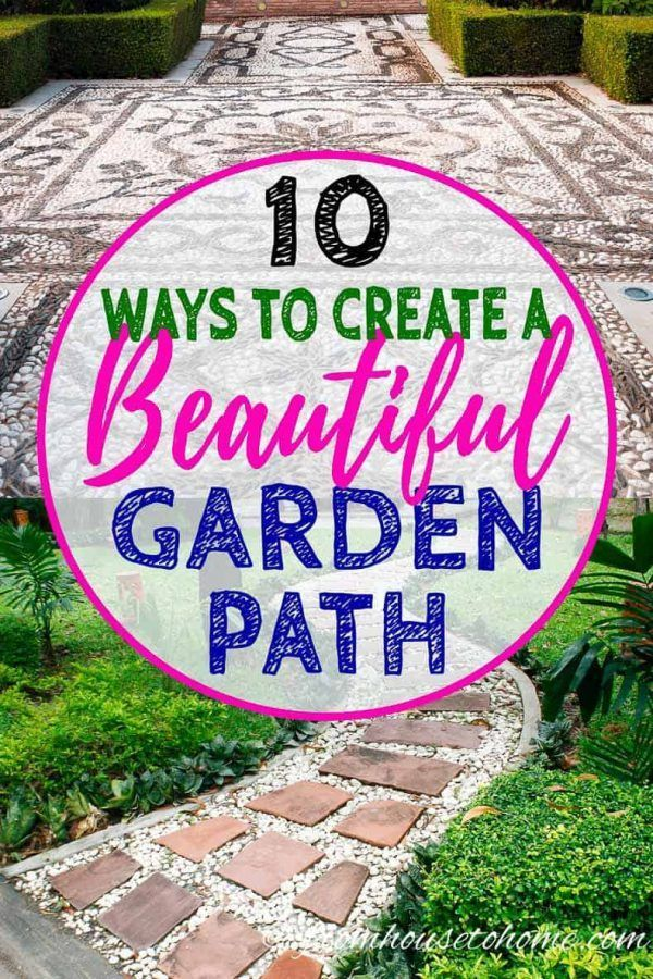 Photo of Garden Path Ideas: 10 Ways To Create A Beautiful Walkway – Gardening @ From House To Home