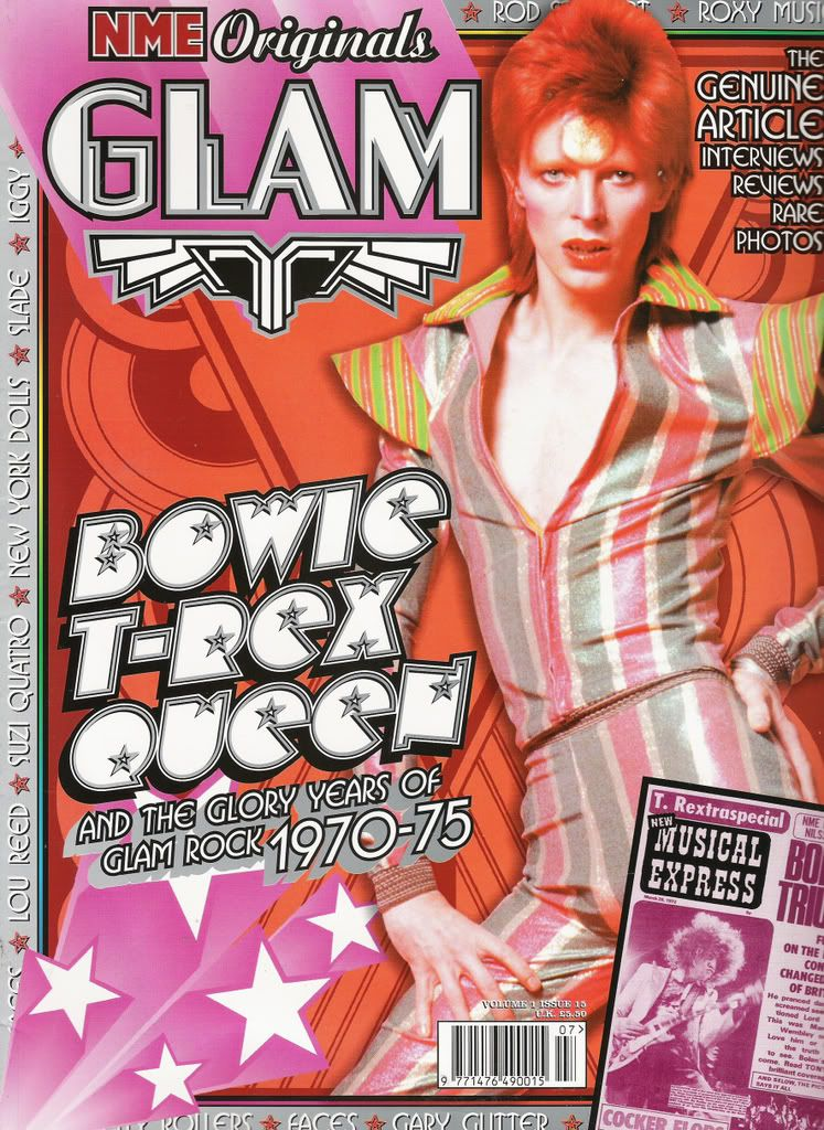 Pin By Katy Jones On Magazine Covers David Bowie Bowie Glam Rock