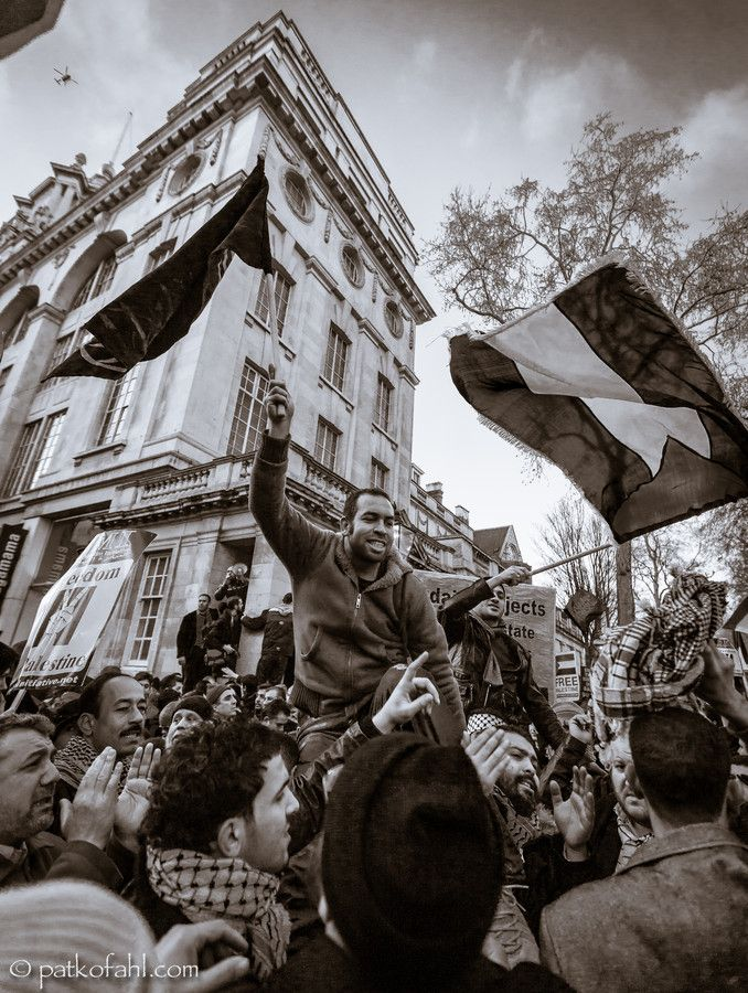 Gaza Bombing Protest - London by Pat Kofahl on 500px