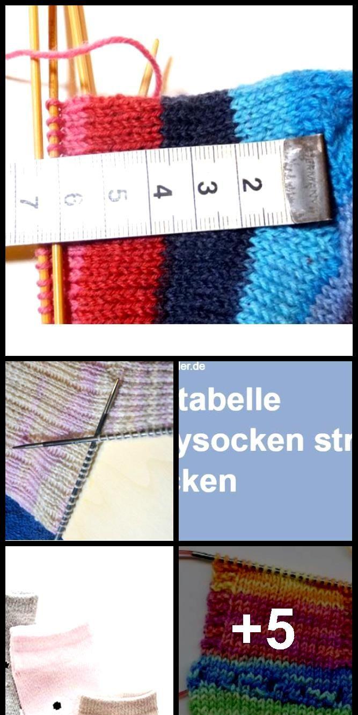 Photo of Maßtabelle Stricken von Babysocken ,  #Babysocken #babysockensitrickentabelle #maßtabelle #st…