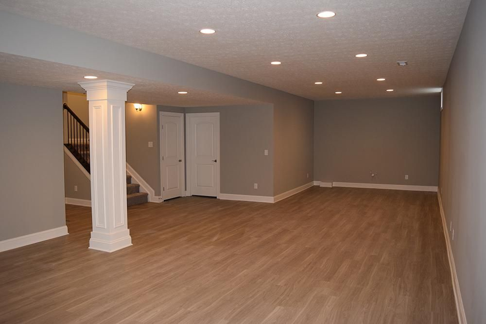 Luxury Vinyl Plank Great Basements Lvp Wood Look Flooring Warm Gray