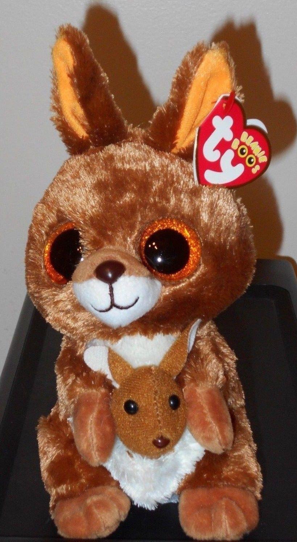 5.9 - 2017 Ty Beanie Boos Kipper The Kangaroo 6 Inch Size In Hand  ebay 7d698eef3931