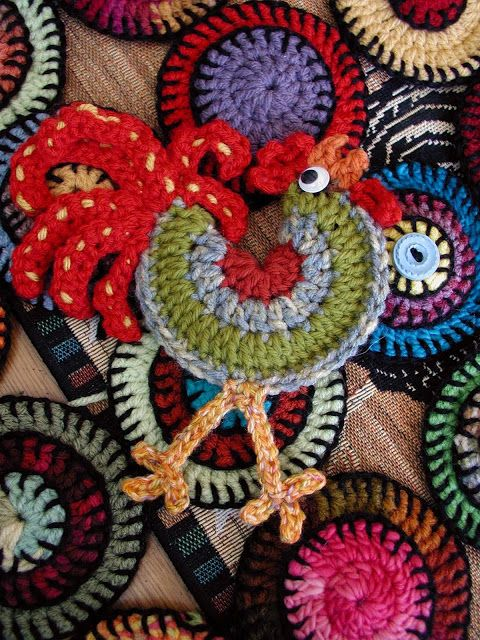 Crocheet Rooster Crochet Roosters Pinterest Crochet And Patterns