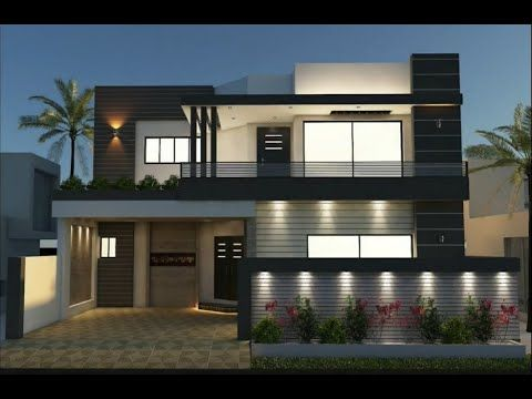 10 Marla Double Storey House Layout Exterior and interior Designs